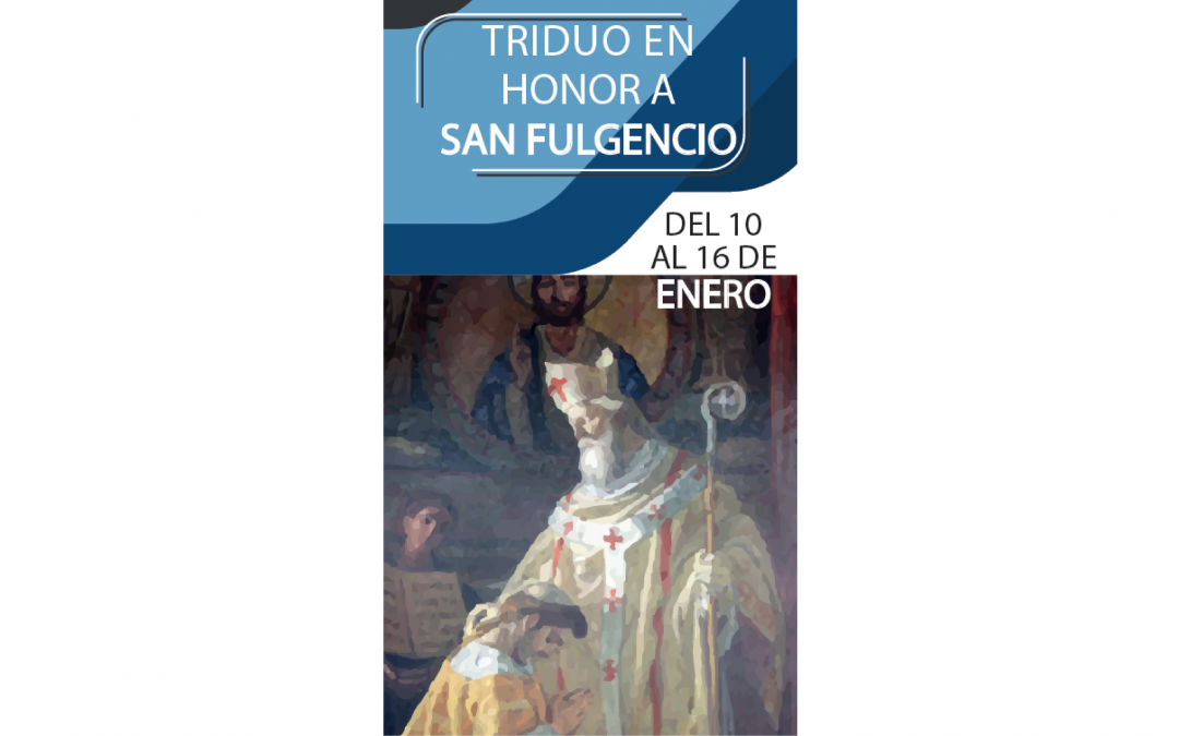 La parroquia prepara la festividad de su patrón con un triduo a San Fulgencio