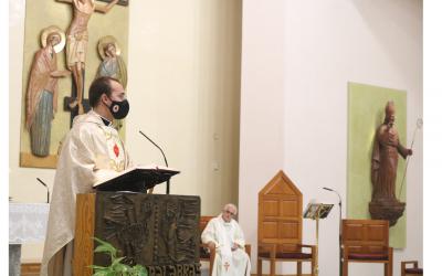 «Me siento feliz por el ministerio del diaconado que he ejercido en esta parroquia» D. Joaquín Conesa, en la Eucaristía de acción de gracias por su ordenación sacerdotal