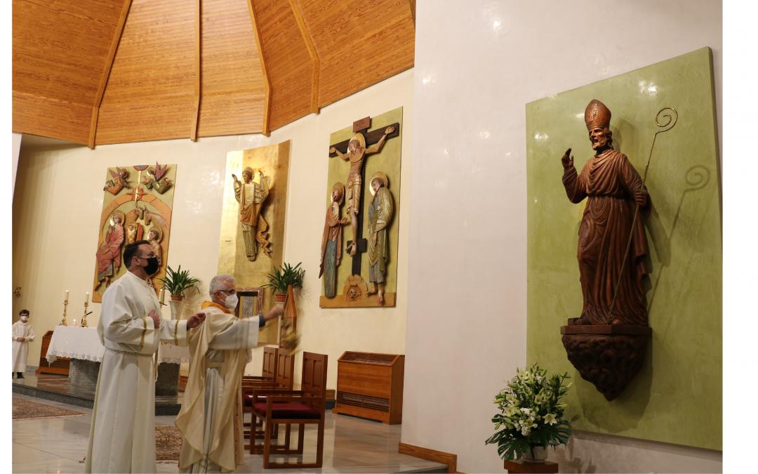 La Parroquia San Fulgencio celebra la festividad de su patrón